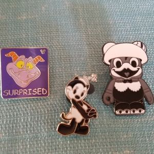 Lot of 3 Disney trader pins